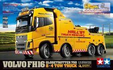 Tamiya 300056362 - 1:14 Volvo FH16 Globetrotter 750 8x4 TOW Truck - Neu