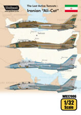 Wolfpack 1/32 decal The Last Active Tomcats Iranian Alicat F-14A Tomcat WD32006