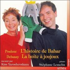 Poulenc: L'histoire de Babar; Debussy: La boîte à joujoux, New Music