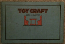 "1922 ""How to Make Toys"" With Construction Plans Book"