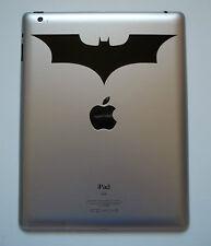 1 x Batman-Decalcomania Adesivo Vinile per Ipad MacBook Tablet pipistrello fumetto Samsung Note