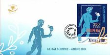 Albania 2004. OLYMPIC GAMES Athens Greece 2004. Block 152. FDC MNH