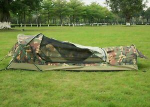 GEERTOP Ultralight 1-Person Waterproof Bivy Tent Camouflage