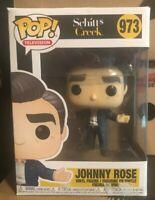 DAMAGED BOX Johnny Rose Funko Pop IN STOCK Schitt's Creek 937 Eugene Levy