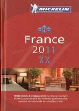 Michelin Red Guide France 2011: Hotels and Restaur