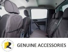 Genuine Ford PX Ranger 2011-2020 Dual CAB Set Front and Rear Canvas Seat Covers