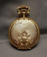 - Bwcco 14K Gold Hunter 6549271 asis Antique Pocket Watch - Waltham 15J 18437874