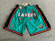 Lakers Just Don x Mitchell & Ness La 1996-97 Nba Shorts 100% Authentic Exclusive