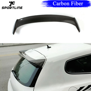 Carbon Fiber Rear Roof Spoiler Trunk Wing For Volkswagen Scirocco 2009-13 Non-R