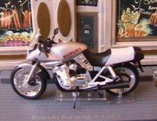 MOTO BIKE SUZUKI KATANA 997 CC 1982 IXO 1/24 BLANC WHITE WEISS