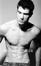 Lenox Fontaine Original B&W 35mm Film Negative Male Model Gay Interest Photo #35