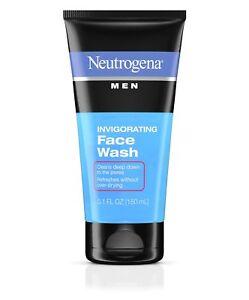 Neutrogena Men Invigorating Face Wash - 150 ML / 5.1oz