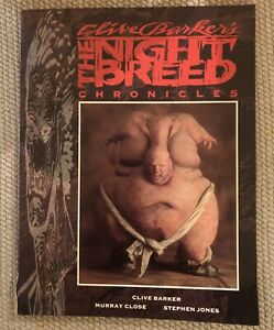 CLIVE BARKER'S NIGHTBREED CHRONICLES - 1ST EDITION - SIGNED by CLIVE BARKER