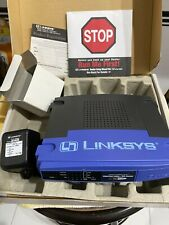 Linksys Instant Broadband Series EtherFast Cable/DSL Router BEFSR41 w/ Cables