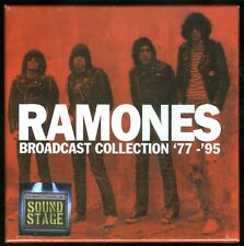 Ramones Broadcast Collection '77-'95 9 CD box set new