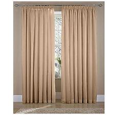 Polycotton Curtains & Pelmets with Pencil Pleat