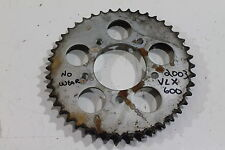 2003 HONDA SHADOW VLX600  REAR SPROCKET