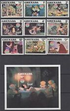Disney Sheet Grenadian Stamps (1974-Now)