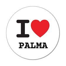 I love PALMA - Aufkleber Sticker Decal - 6cm