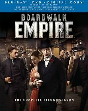 Boardwalk Empire Complete Second Season Blu-ray/DVD, 2012, 7-Disc FREE SHIPPING