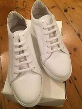 Pantofola D'Oro PdO1 Foro Italico Low Vit Luxury Bianco Size 44 White UK 9.5