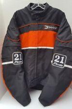 Joe Rocket PASCAL 21 PICOTTE Jester Biker Motorcycle Jacket Orange Black XXL 2XL
