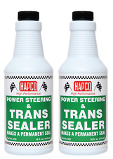 Power Steering & Transmission Sealer - MAKES A PERMANENT SEAL - 2 PACK