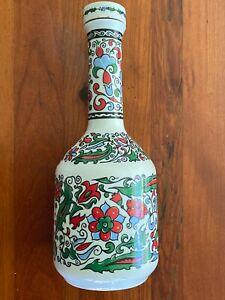 Collectable Handmade Porcelain Metaxa  Bottle/Decanter