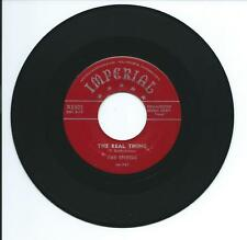 """1954 THE SPIDERS SUPER RARE """"THE REAL THING"""" 45 rpm 7"""""""