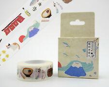 Kawaii Japanese washi tape! Mt. Fuji, cats, furin wind chimes ramen planner tape