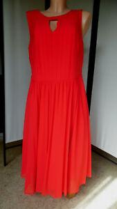 C.M. Schönes Kleid/Cocktailkleid von sheego, rot, Gr. 44 (°204)