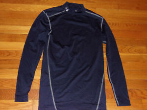 NWT MENS S Under Armour Blue Compression Short Sleeve Training Shirt 1296924 $30