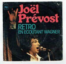"Joel PREVOST Disque Vinyle 45T 7"" RETRO - EN ECOUTANT WAGNER - CBS 4706 RARE"
