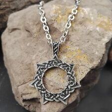 Star Faery Elfin Pendant necklace viking slavic Heptagram Magical 7 Pointed