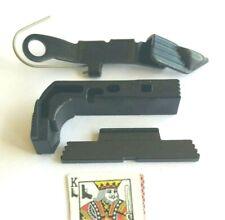 Extended Parts Kit, Black W/Angled Slide Lock for Gen 3 Glock models 17,19,26,34
