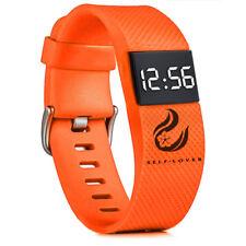 Fashion Men Women Digital LED Sports Watch Silicone Band Wrist Watches Popular