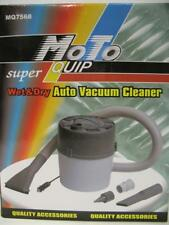MoTo 12v Wet Dry Auto Vacuum Cleaner +  Hose Attachments Car Truck RV Camper