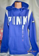 Victorias Secret Pink GRAPHIC Cross Over Slouchy PULLOVER Hoodie NWT M