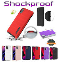 Samsung Galaxy S20 /ULTRA /PLUS Hybrid Armor Rubber Rugged Shockproof Case Cover
