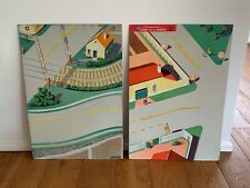 More details for vintage french school educational tin road safety boards
