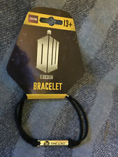 Doctor who time lord  leather bracelet