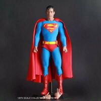 1/6 Scale Action Figure Cartoon 1978 Super Christopher Reeve Full Set Doll Colle