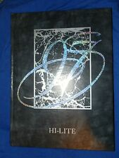 1997 NEW RIEGEL OH HIGH SCHOOL YEARBOOK Annual HI-LITE Blue Jackets