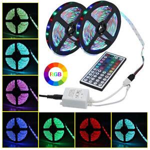 Luci di striscia a LED 10M RGB 3528 con luce 12V con cambio posteriore re colore