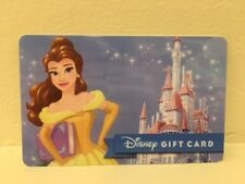 Disney Collectable Gift Card NV Mint Disney Princess Belle Dream Big Collectible