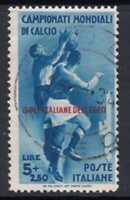 ITALY - EGEO - Football 5 Lire Sass. n.79  cv 720$  fine used