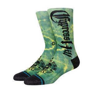 "Stance x Cypress Hill ""Insane In the Brain"" Classic Crew Socks (Green) Sock"