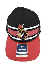 New ListingNhl Ottawa Senators Hockey New Fanatics Hat Cap Adjustable Authentic Red