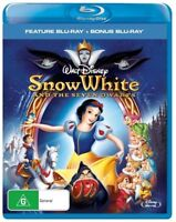 DISNEY'S SNOW WHITE AND THE SEVEN DWARFS BLU RAY=2 DISCS=ORIG CLASSIC=NEW/SEALED