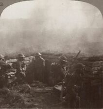 the Thick of a Gas Attack; Our Lads, GAS Masks on, Are Ready For the Enemy